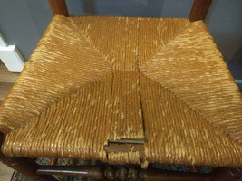 Vintage Tell City Hard Rock Andover Maple Ladderback Chair 2312 #4 image 2