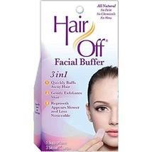Hair Off Facial Buffer, 1 kit Pack of 4 image 1