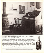 Jack Daniels Whiskey St. Louis Worlds Fair Gold Medal Best Whiskey 2004 AD - $14.99
