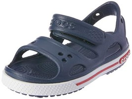 Crocs Kids' Crocband II Sandal | Slip On Water Shoes for Boys and Girls, Navy/Wh - $999.99