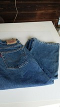 Levi's jeans husky size 8 waist is 26 and length is 22 loose fit 569 blue - $19.95