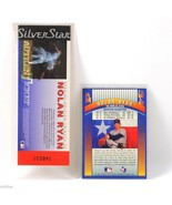 Nolan Ryan Silver Star Authentic Hologram Ticket 2 Identical Trading Car... - $4.50