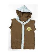 NWT Shilav Sleeveless Hoodie Vest Shirt 100% Cotton Nature Life Boy/Girl... - $16.99