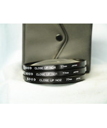 Camera Filters 77mm +1,2,4 Close Ups Cased - Great for Close Ups - Nice-  - $12.00