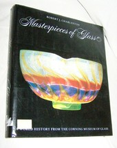 Masterpieces of Glass HB w/dj-Charleston-1980-239 pages-Corning Museum of Glass - $35.00