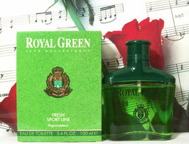 Royal Green Fresh Sport Line EDT Spray 3.4 Oz. By Myrurgia FOR MEN - $99.99
