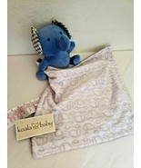 Koala Baby Babies R Us Security Blanket Blue Elephant Grey White Cars Gi... - $24.73