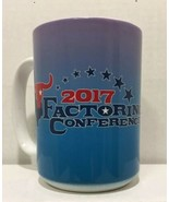 Factoring Conference 2017 Coffee Mug - $15.84