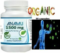 Natural Anamu Boost Immune Anti-inflammatory Arthritis 1500 mg 90 caps O... - $26.96