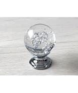Bubble Glass Knobs Crystal Knob Drawer Knobs Dresser Pulls Kitchen Door ... - $6.50