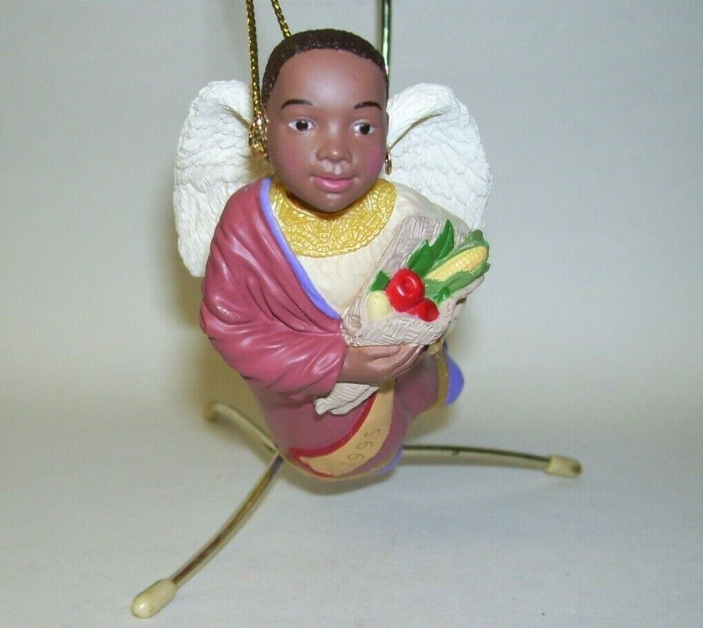 Primary image for 1995 Hallmark Ornament Celebration of Angels Kwanzaa 1st in Series