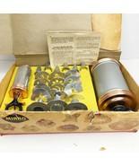 Vintage MIRRO Cooky Pastry Press Decorator Set Manual Recipes Box 23 Tip... - $246.51