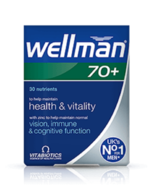 Wellman 70+ vision immunity cognitive functions health and vitality 30 t... - $16.26