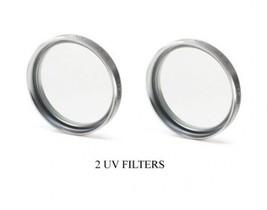 2 Uv Filters For Sony DCRPC330 DCRPC330E DCRSR200 DCRSX45/L DCRSX45/S DCRSX45BE - $11.62