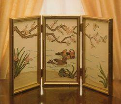 Cross Stitch Far East Serendipity Designs Chinese Mandarin Duck Screen Patterns - $11.99