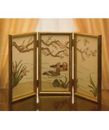 Cross Stitch Far East Serendipity Designs Chinese Mandarin Duck Screen P... - $11.99