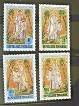 Togo Set of 4 Stamps Apostles MINT Cancelled Free Shipping #700113 - $1.68