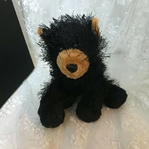 "GANZ Black Bear Webkinz 8"" (Head to tail) HM004  No Code Plush Only - $9.49"