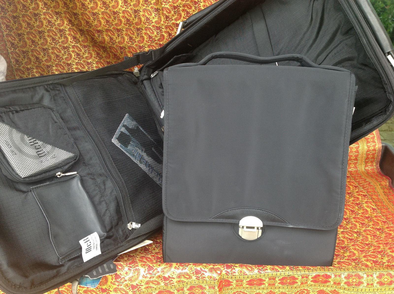 Mcklein Wheeled Transport Computer/ Clothing Case (Black) Ultra Fiber 51695 image 7
