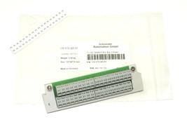 NIB SCHNEIDER 170 XTS 005 01 2-ROW SCREW TERMINAL BUS BAR 170XTS00501