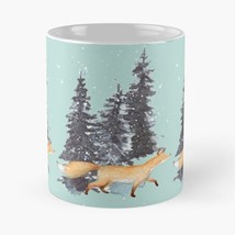 Winter forest fox  V1799 - $14.59