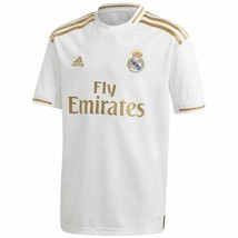adidas Kid's Real Madrid Home Jersey 2019-20 X-Large White / Gold - $38.26