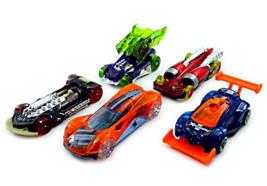 SET*5 CAR MODELS, X-RAYCERS HOTWHEELS SCALE 1:64, NEW - $35.59