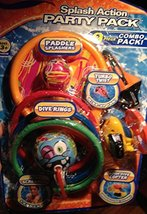 Splash Action Party Pack 9 Piece Pool Toy Combo - $19.79