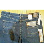 LEE RELAXED FIT STRAIGHT LEG COMFORT STRETCH JEANS - Men's 40 X 30 NWT - $39.59
