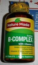 Nature Made Super-B Complex W/ Vitamin C Immune Support Health 360 Tabs 8/21 - $17.81