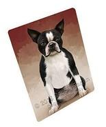 Boston Terriers Dog Art Portrait Print Woven Throw Sherpa Plush Fleece B... - $88.11