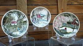Vintage Unusual Johnson Brothers The Friendly Village Small Plates - $25.99