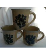 """3 Pfaltzgraff FOLK ART COFFEE MUGS USA #289 3 3/4"""" TALL - £23.92 GBP"""