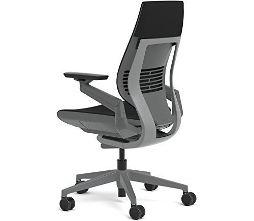 Primary image for Steelcase Gesture Office Chair - Cogent: Connect Root Beer Fabric, Medium Seat H