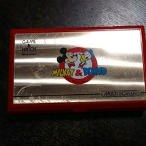 Game Watch Nintendo Mickey & Donald Operation Confirmed Good Item From Japan M30 - $81.00