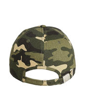 True Religion Men's Metallic Script Camo Logo Baseball Cap Sports Strapback Hat image 3