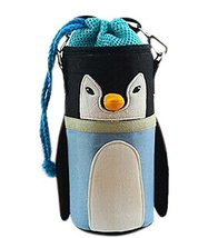Lovely Baby Bottle Messenger Bag/Keep Warm (2299CM),Blue Penguin