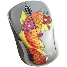Verbatim Wireless Multi-trac Blue Led Mouse (koi) VTM98615 - $26.15