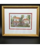 William Norte Firmado # Thomas Edison Invierno Home Impresión Le Fort Myers - $24.25