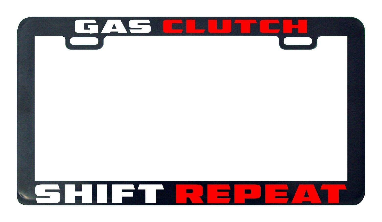 Primary image for Gas clutch shift repeat Type R JDM Japan license plate frame holder