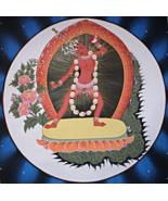 Genuine, Unique, Hand Painted, Tibetan Buddhist, Vajrayogini, Thangka, T... - $75.00