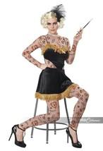 California Costumes The Amazing Tattooed Damen Freakshow Halloween Kostü... - £23.04 GBP