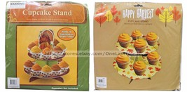 *MOMENTUM BRANDS Party Decoration CUPCAKE STAND Treats THANKSGIVING *YOU... - $3.47