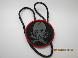 Gray Skull Bead Medallion - $190.00