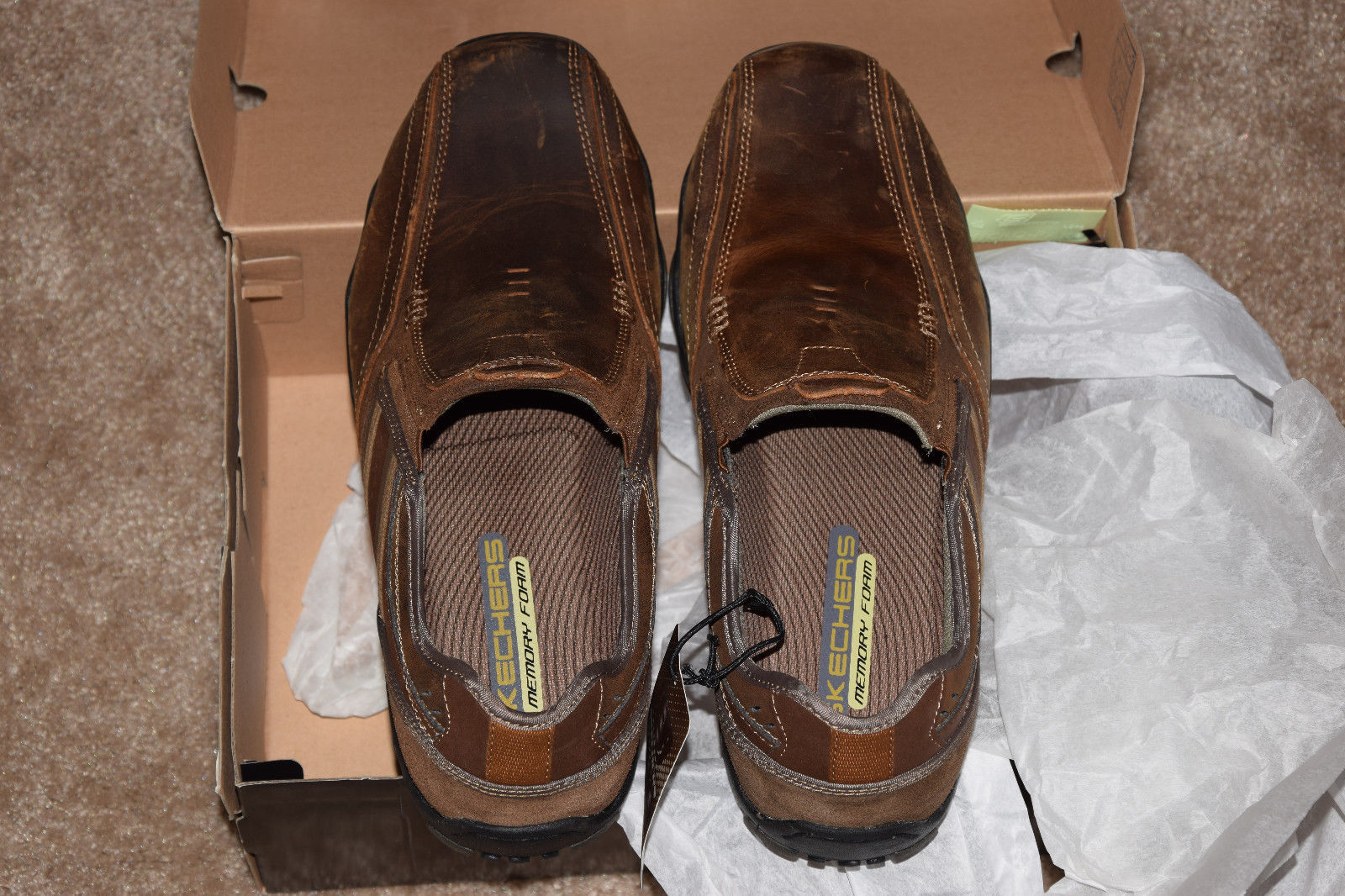 b8d481fba505 Skechers Mens Diameter-Zinroy Slip-On Loafer