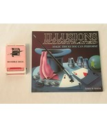 Invisible Trick Card Deck and Illusions Illustrated Magic Tricks You Can... - $11.99