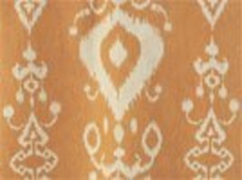 COPPER IKAT LINENS  -Orange Table runners, Napkins, placemats,  copper, wedding, - $14.50