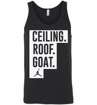 Ceiling Roof Goat Funny Basketball 2017 Tank Top - $21.90+