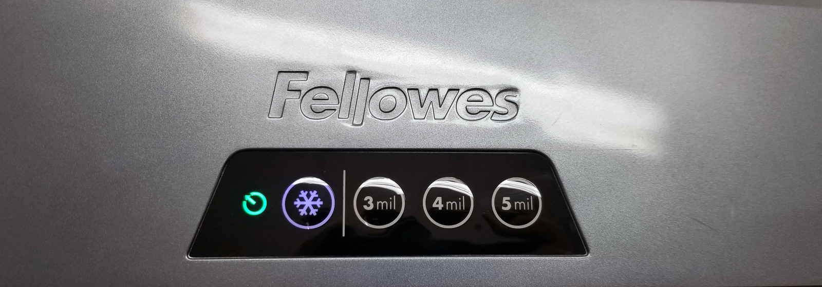 "Fellowes Saturn 2 125, 3 to 5mil 12.5"" Pouch Laminator Bin:14"