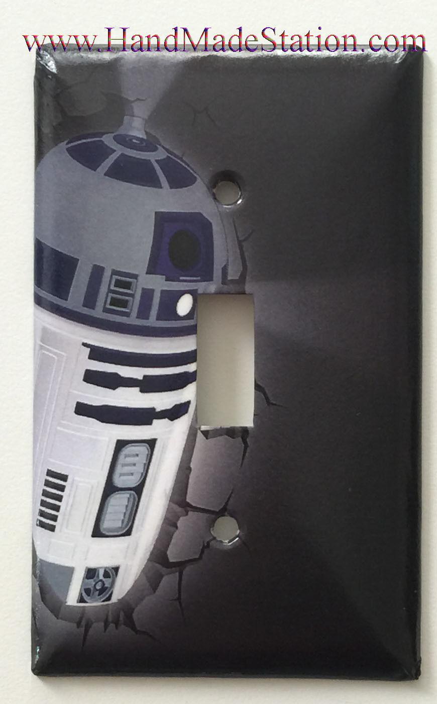 Star wars r2d2 wall single toggle
